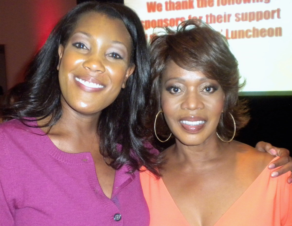 Misty Monroe and Alfre Woodard