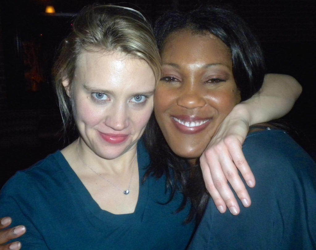 Misty Monroe and Kate McKinnon