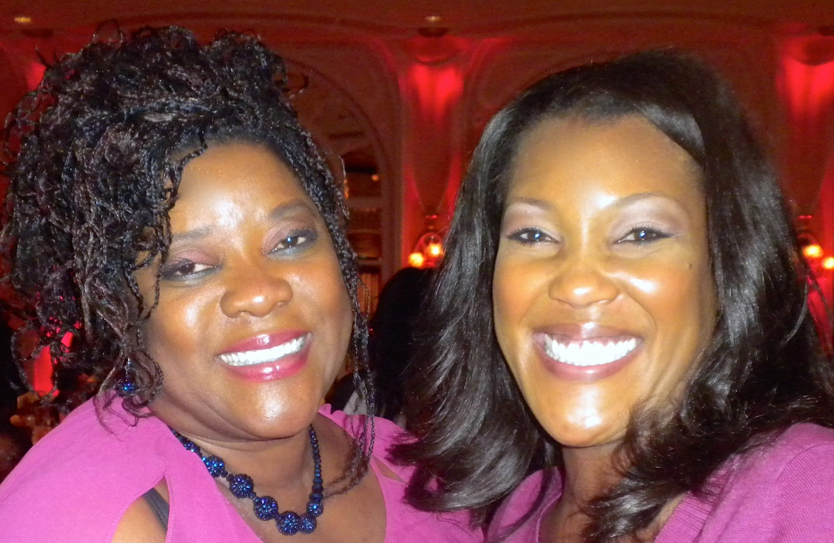Misty Monroe and Loretta Devine