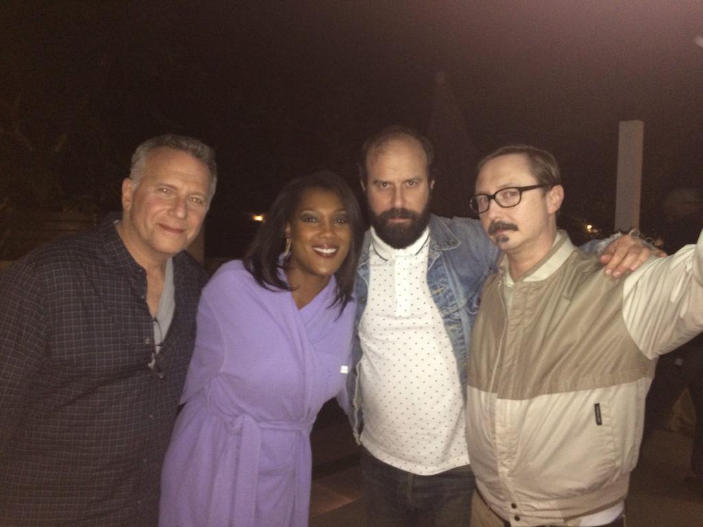 Misty Monroe, Paul Reiser, Brett Gelman, and John Hodgeman