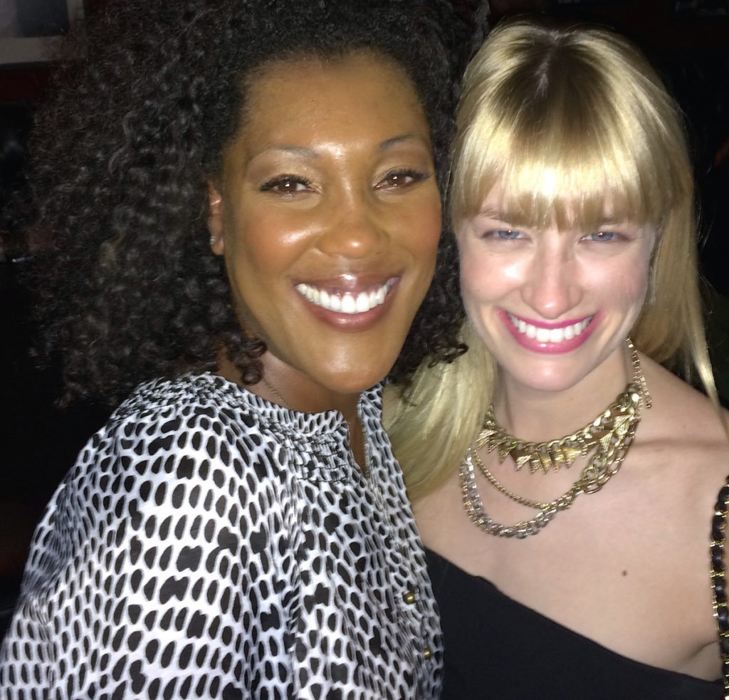 Misty Monroe and Beth Behrs
